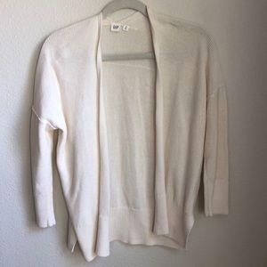 GAP NWOT Cream Sweater Cardigan XS